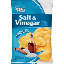 Great Value Salt & Vinegar Potato Chips