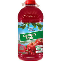 Great Value Cranberry Apple Juice