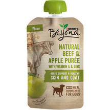 Purina Beyond Natural Meal Enhancement Mix for Dogs Beef and Apple Puree