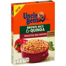 Uncle Ben's Roasted Red Pepper Brown Rice & Quinoa