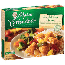 Marie Callender's Sweet & Sour Chicken White Meat w/Rice & Vegetables Meal