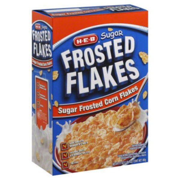 H-E-B Sugar Frosted Flakes Cereal