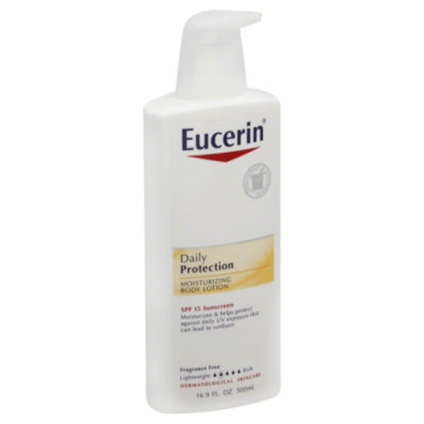 Eucerin Daily Protection SPF 15 Body Lotion