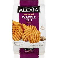 Alexia All Natural Seasoned Waffle Cut Fries