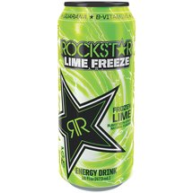 Rockstar Frozen Lime Freeze Energy Drink