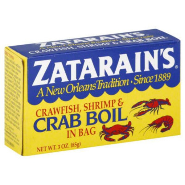 Zatarain's Crawfish Shrimp & Crab Boil Seasoning in Bag