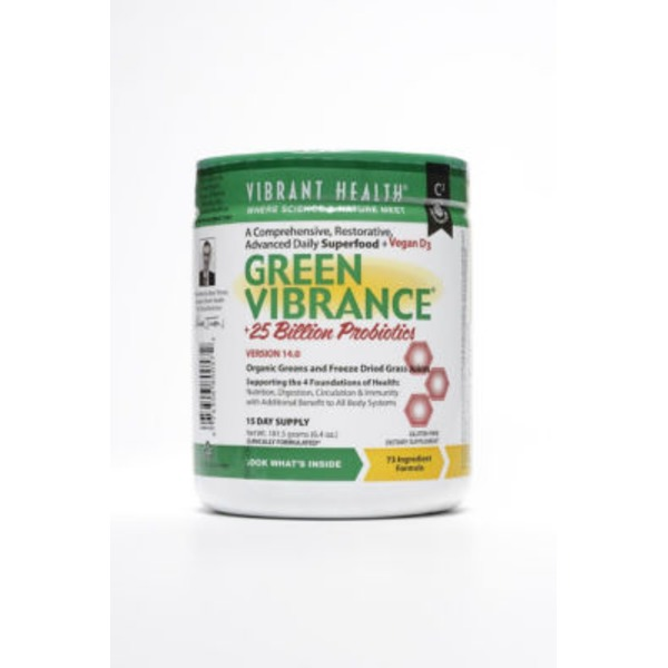 Vibrant Health Green Vibrance Probiotic Powder