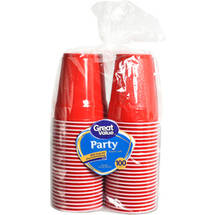 Great Value Party 18 oz Cups