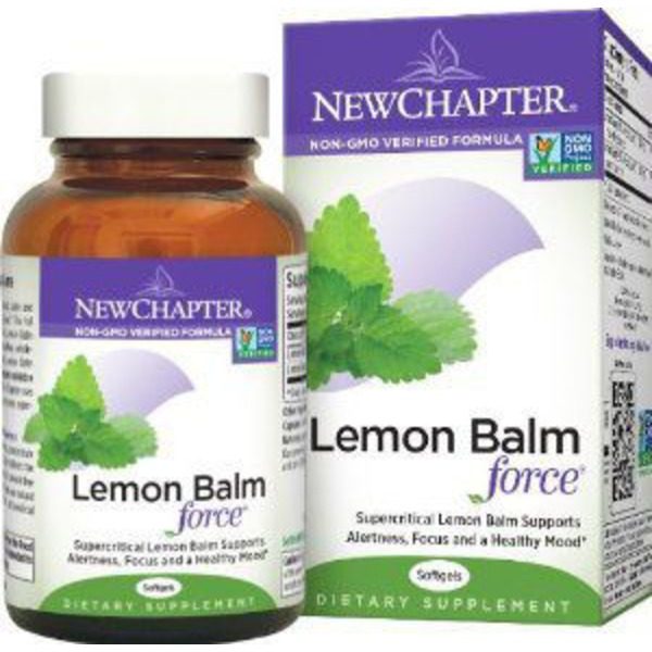New Chapter Lemon Balm Force Softgels