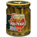 Talk O' Texas Hand Packed Mild Okra Pickles
