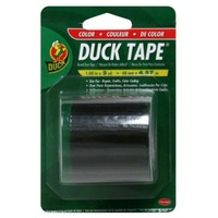 Duck Black Duct Tape 1.88 Inches X 5 Yards