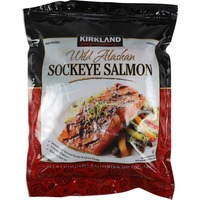 Kirkland Signature Wild Sockeye Salmon, Individually Wrapped