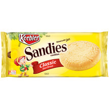 Keebler Sandies Simply Shortbread Cookies