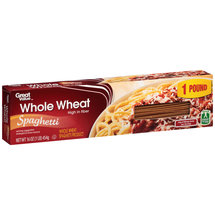 Great Value Whole Wheat Spaghetti