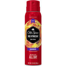 Old Spice Fresher Collection Amber Scent Body Spray