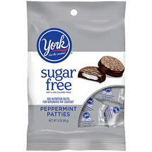 York Dark Chocolate Candy Covered Sugar Free Peppermint Patties