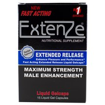 Extenze Extended Release Maximum Strength Male Enhancement Liquid Gelcaps
