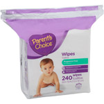 Parent's Choice Unscented Reseal Triple Pack Wipes