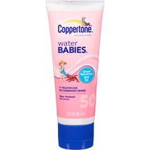 Coppertone Water Babies Sunscreen Lotion SPF 50