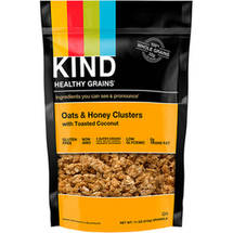 KIND Healthy Grains Clusters Oats & Honey Clusters with Toasted Coconut