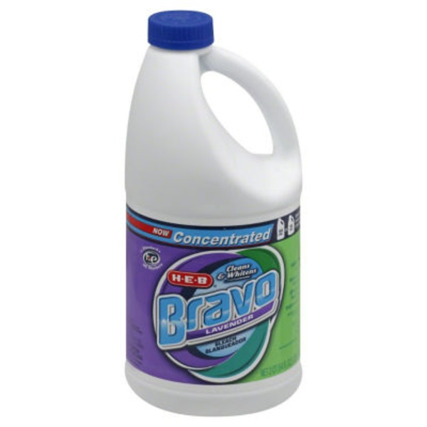 H-E-B Bravo Concentrated Lavender Bleach