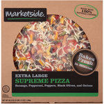 Marketside 16 Inch Supreme Traditional Crust Pizza