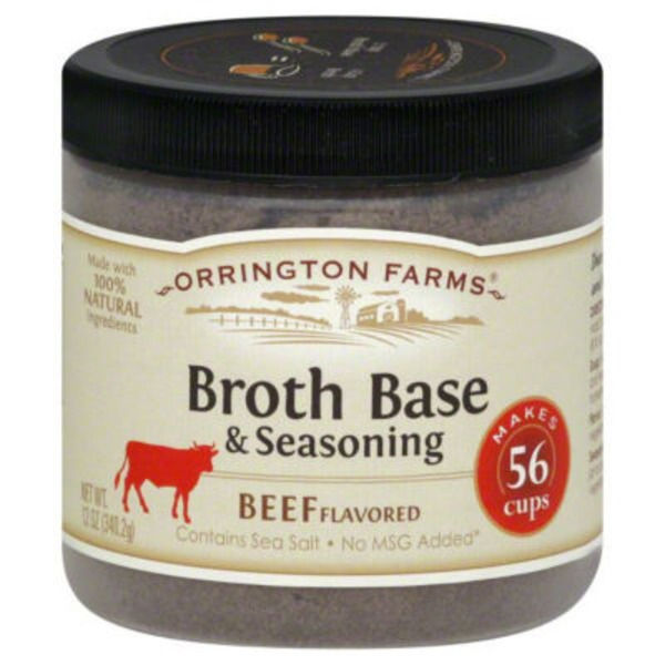 Orrington Farms Beef Flavor Broth Base