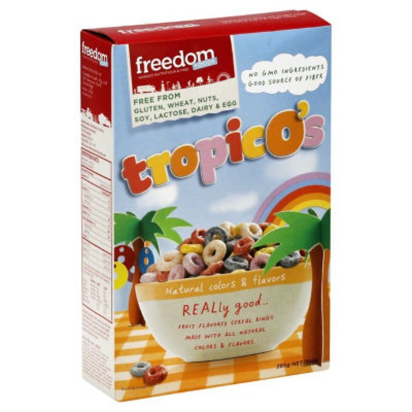 Freedom Foods TropicO's Cereal