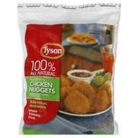 Tyson Frozen Breaded Fully Cooked Chicken Nuggets