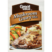 Great Value Mushroom Gravy Mix