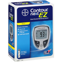 Bayer Contour Next EZ Blood Glucose Monitoring System Model