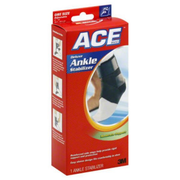 Ace Cider Company Deluxe  Moderate Support One Size Adjustable Ankle Stabilizer