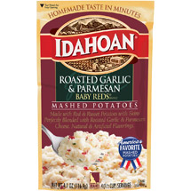 Idahoan Baby Reds Roasted Garlic & Parmesan Mashed Potatoes