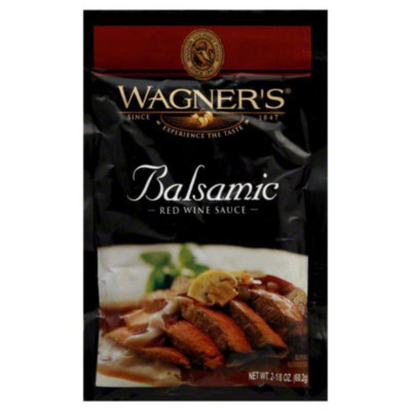 Wagners Red Wine Sauce, Balsamic
