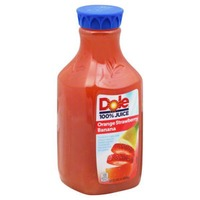 Dole Orange Strawberry Banana 100% Juice