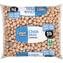 Great Value Garbanzos Chick Peas