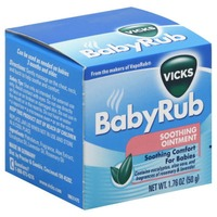 Vicks BabyRub Soothing Ointment Respiratory Care