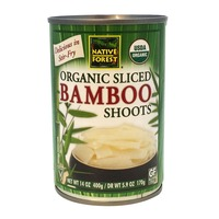 Native Forest Organic Sliced Bamboo Shoots