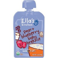 Ella's Kitchen Pear and Blueberry Baby Breakfast