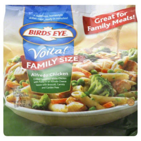 Birds Eye Voila! Family Skillets Alfredo Chicken