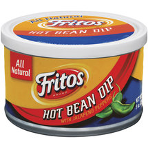 Fritos Hot with Jalapenos Peppers Bean Dip