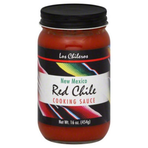 Los Chileros Cooking Sauce, New Mexico Red Chile
