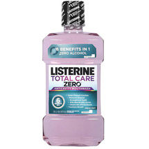 Listerine Total Care Zero Fresh Mint Flavor Antiseptic Adult Mouthwash