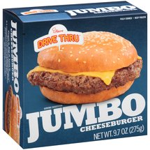 Pierre Drive Thru Jumbo Cheeseburger