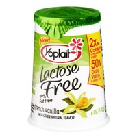 Yoplait Lactose Free French Vanilla Low Fat Yogurt