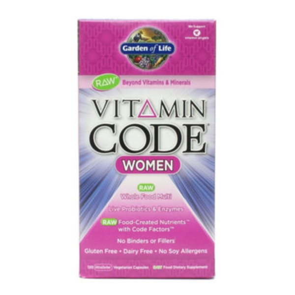 Garden of Life Vitamin Code Women's Multivitamin