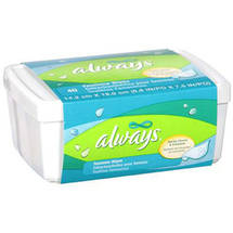 Always Feminine Wipes