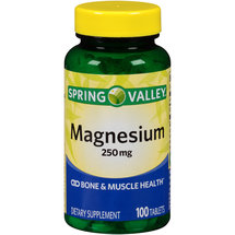 Spring Valley Magnesium Dietary Supplement Tablets