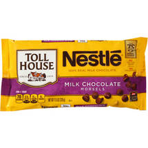 Nestle Toll House Real Milk Chocolate Morsels
