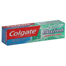 Colgate MaxFresh Clean Mint Fresh Breath Whitening Toothpaste